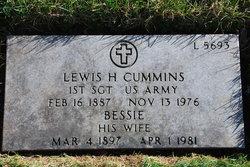 Lewis H Cummins