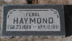 Ferol Haymond