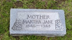 "Martha Jane ""Mattie"" <I>Choate</I> Adams"