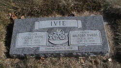 Lucille Annie <I>Peterson</I> Ivie
