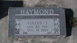Vivian <I>Jorgensen</I> Haymond