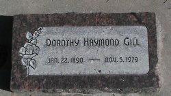 Dorothy Ann Eliza <I>Haymond</I> Gill