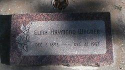 Elma Florence <I>Haymond</I> Wagner