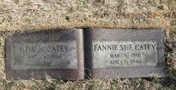 Fannie Sue Catey