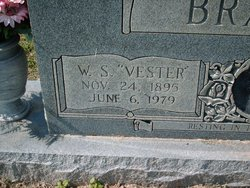 "William Sylvester ""Vester"" Brandon"
