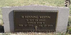 H Henning Westin