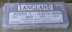 Judith <I>Wood</I> Langland
