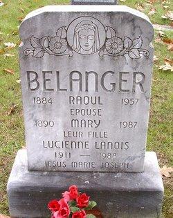 Lucienne <I>Belanger</I> Lanois
