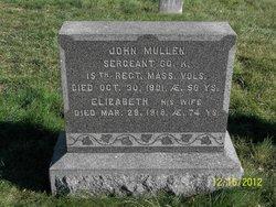 Elizabeth W <I>Savage</I> Mullen