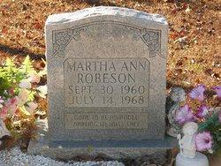 Martha Ann Roberson