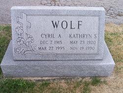 Cyril A Wolf