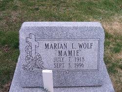 Marian L Wolf