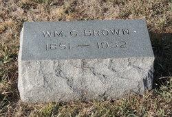 "William Cerry ""Will"" Brown, Sr"