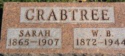 Sarah <I>Willis</I> Crabtree