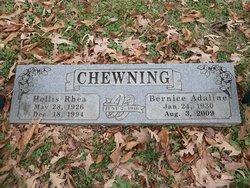 Bernice Adaline <I>Gilchrest</I> Chewning