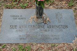 Sue Ann <I>Osborne</I> Arrington