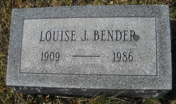Louise <I>Johnston</I> Bender