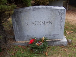 "George Edward ""Ed"" Blackman"