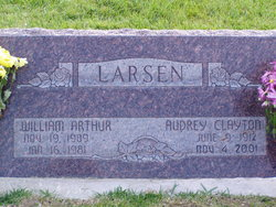 Audrey Larsen <I>Clayton</I> Rose