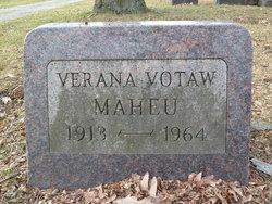 """Verana Claire """"Babe"""" <I>Votaw</I> Maheu"""