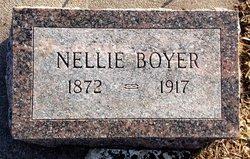 """Ella Florence """"Nellie"""" <I>Mapes</I> Boyer"""