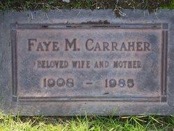 Faye Marie <I>Porter</I> Carraher