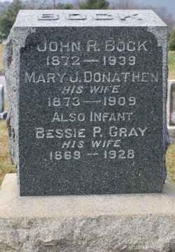 Bessie P. <I>Gray</I> Bock