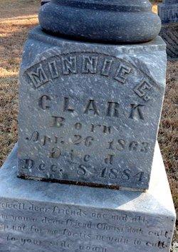 Minnie E Clark