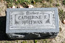 Catherine F. <I>Sampsel</I> Hoffman