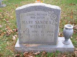 Mary Sandra <I>Kessler</I> Weemes