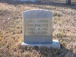Otice Edward Thurmond