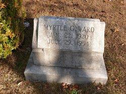 Myrtle G. <I>Johnson</I> Ward