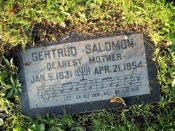 Gertrud Salomon
