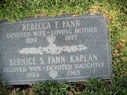Rebecca F Fann