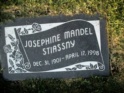 Josephine <I>Mandel</I> Stiassny