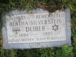 Bertha <I>Silverstein</I> Deiber