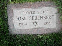 Rose Sebenberg