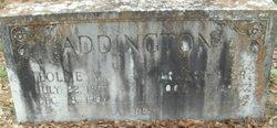 Ernest Bascomb Addington, Sr