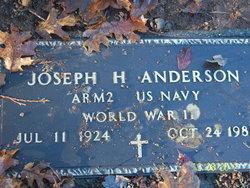 "Joseph Howard ""Joseph Henry Von Hagel"" Anderson"