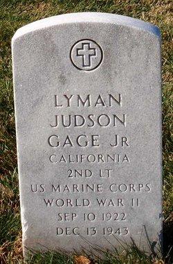 2LT Lyman Judson Gage, Jr