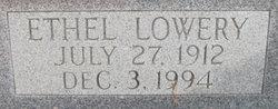 Ethel <I>Lowery</I> Harrison