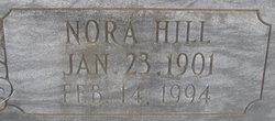 Nora <I>Hill</I> Harper