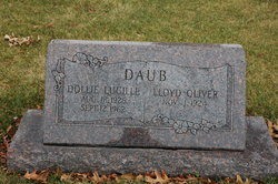 Dollie Lucille <I>Higgins</I> Daub