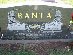 Mary Ann <I>McDaniel</I> Banta
