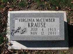 Virginia E. <I>York</I> Krause