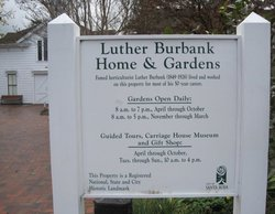 Luther Burbank Memorial Home and Gardens Cemetery