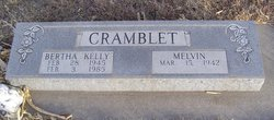 Bertha <I>Kelly</I> Cramblet