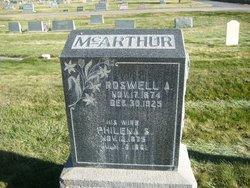 Philena <I>Stansfield</I> Mcarthur
