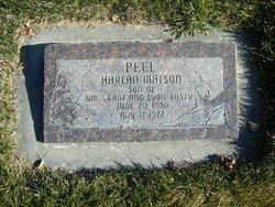 Harlan Matson Peel