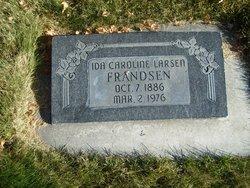 Ida Caroline <I>Larsen</I> Frandsen